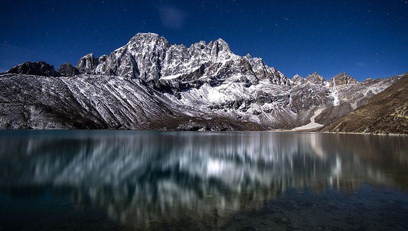Трек к Эвересту через озеро Гокио