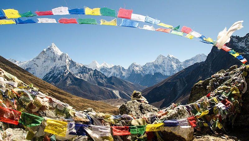 Трек к Эвересту - базовый лагерь