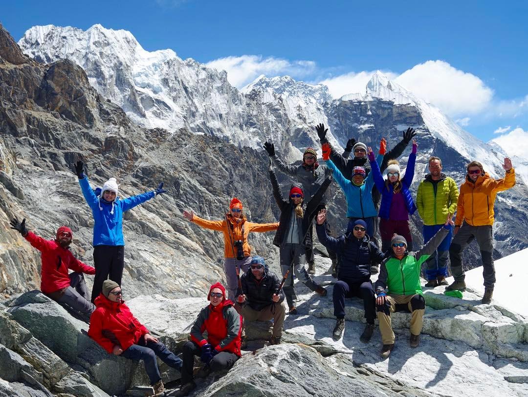 Трек к Эвересту - вершина Гокио-Ри