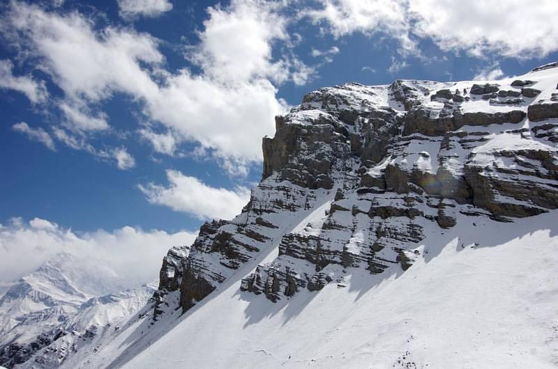 Заснеженные Гималаи