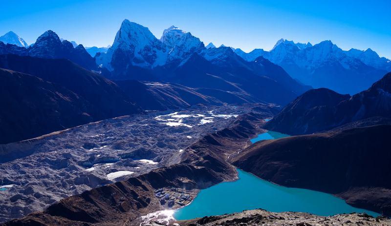 Трек к Эвересту - озеро Гокио