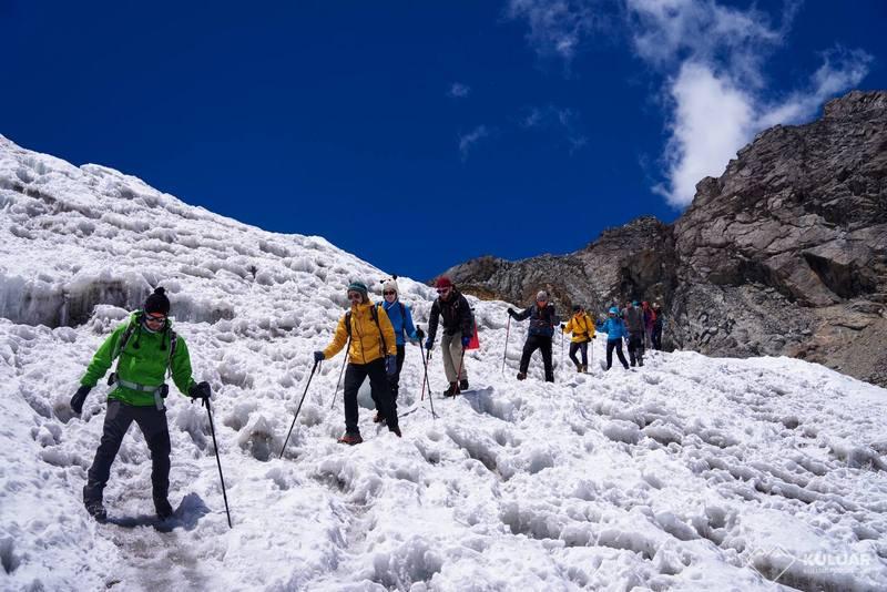 Эверест через Гокио - группа