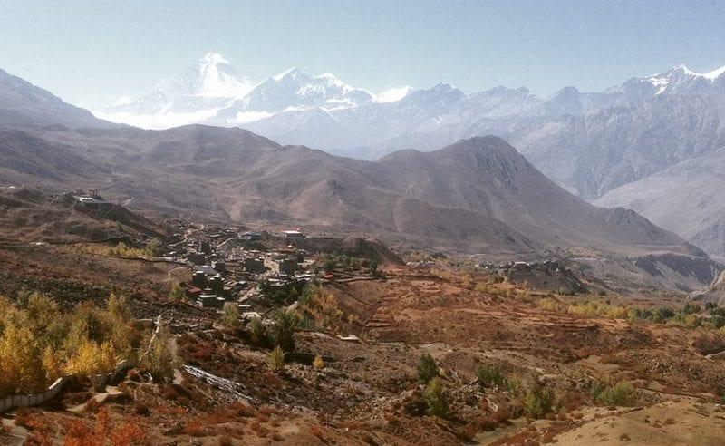 Пейзаж Верхнего Мустанга
