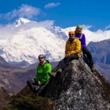 Трек к Эвересту через Гокио апрель-май 2017 - фото 31
