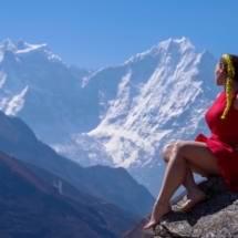 Трек к Эвересту через Гокио апрель-май 2017 - фото 33