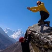 Трек к Эвересту через Гокио апрель-май 2017 - фото 36