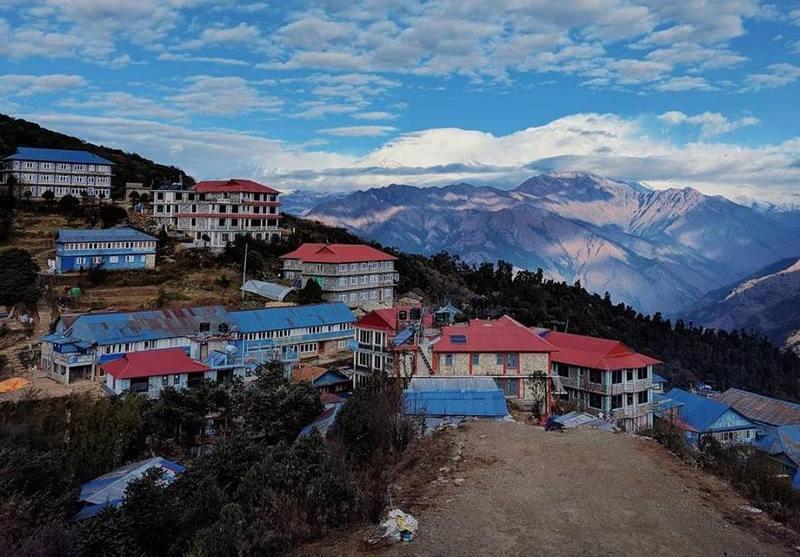 Непальская горная деревня