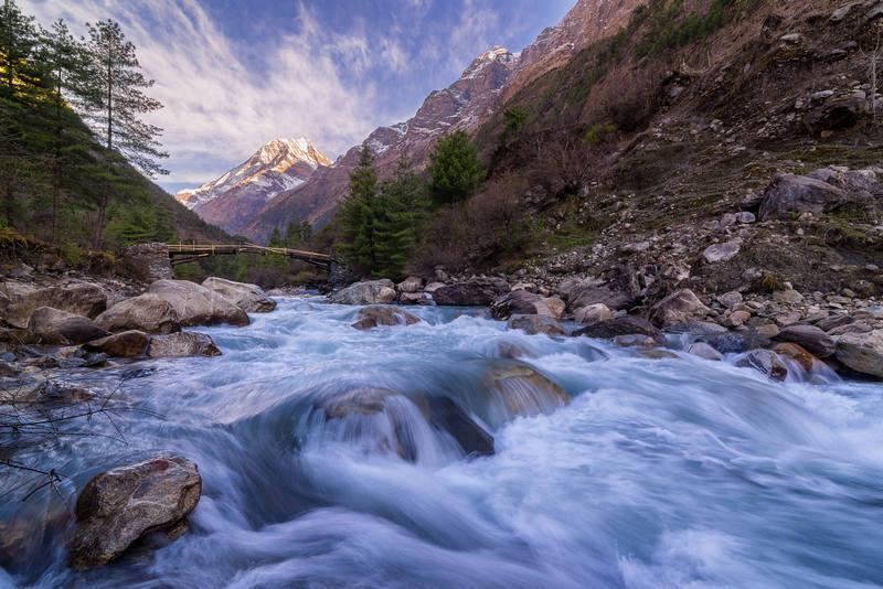 Речка по пути к Эвересту