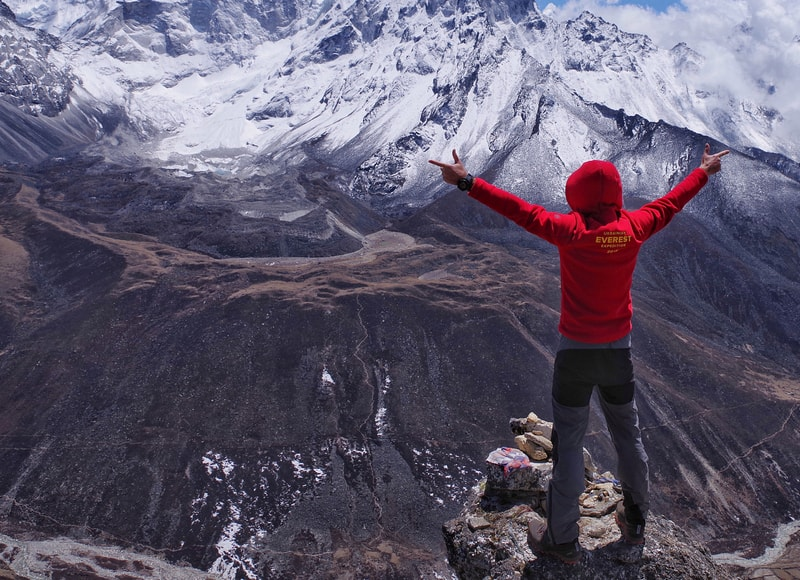 Экспедиция на Эверест 2018