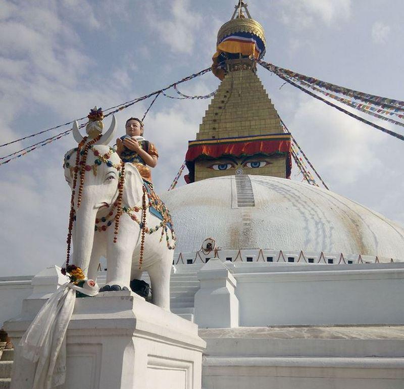 Ступа Мира в Катманду