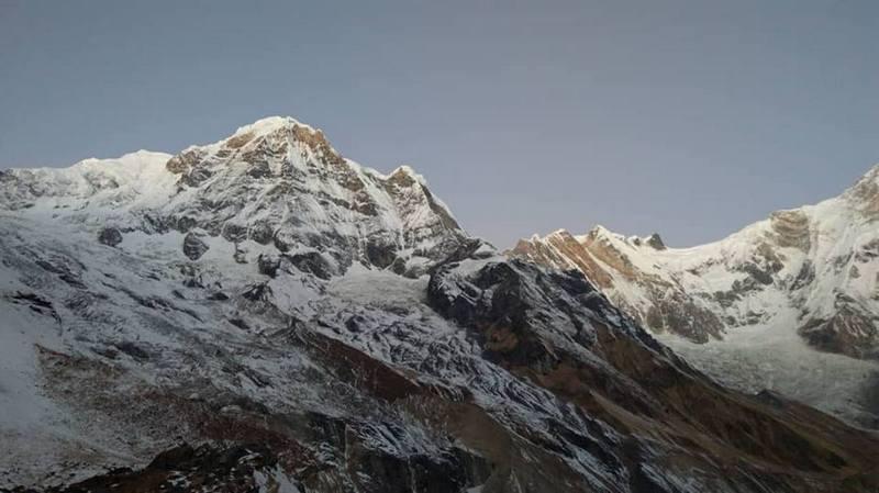 Гималаи в снегу