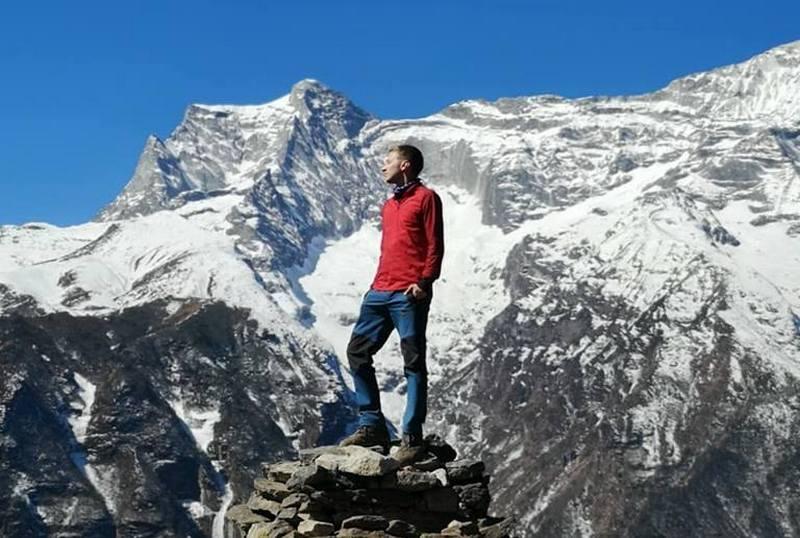 Путешественник в Гималаях