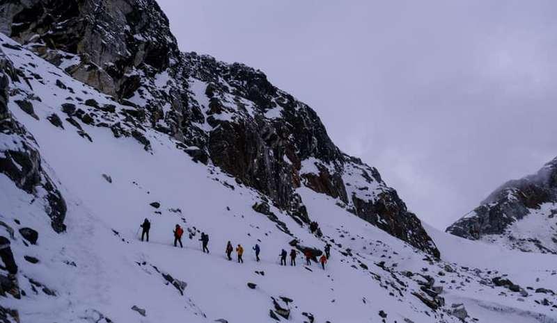Группа в Гималаях