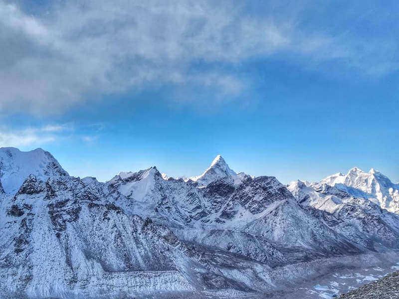 Вид с горы Кала-Паттар